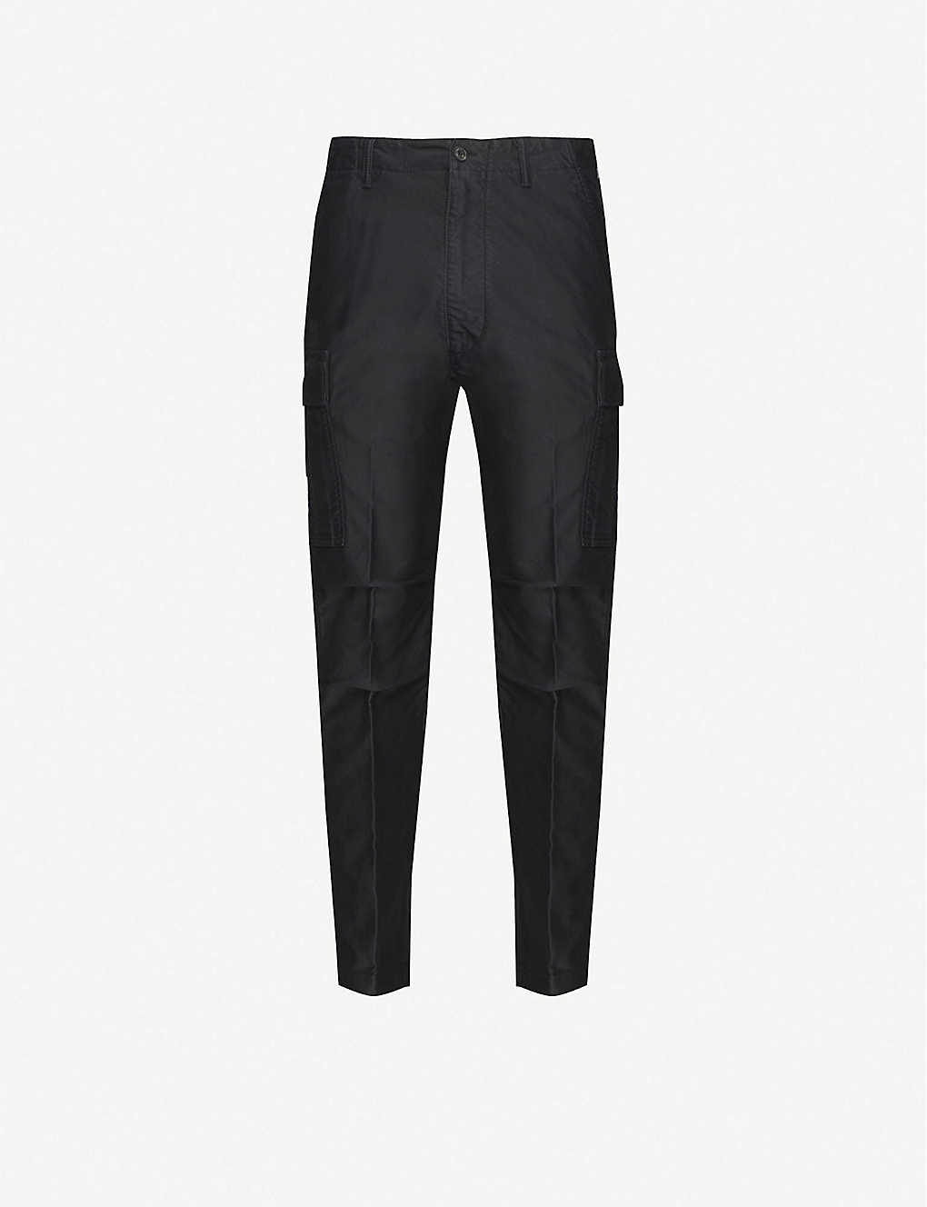 TOM FORD: Straight-fit cotton cargo trousers