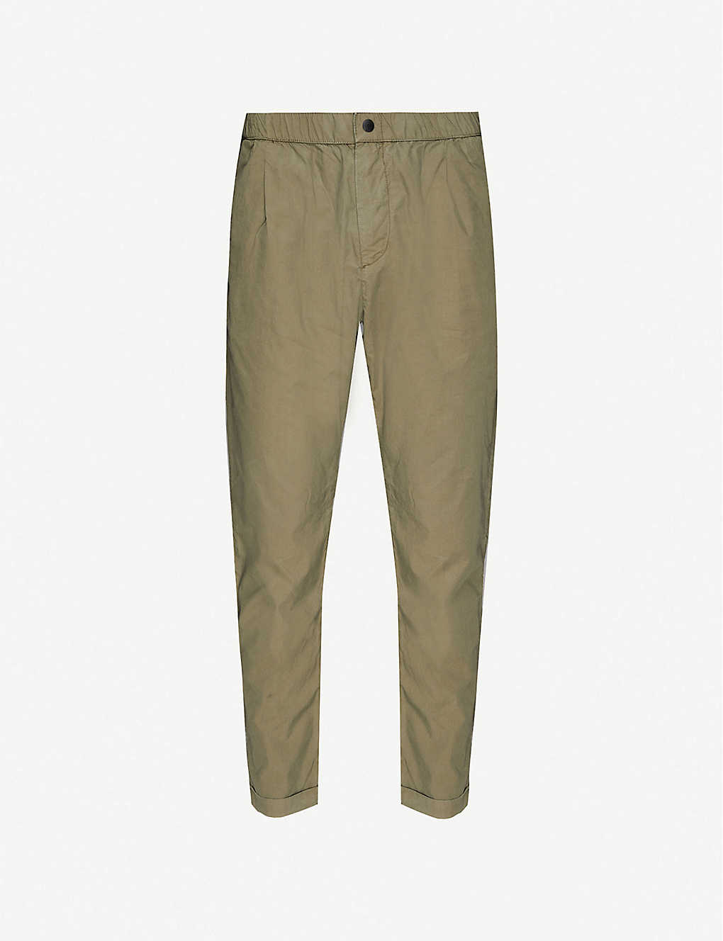 PS BY PAUL SMITH: Slim-fit cotton-poplin trousers