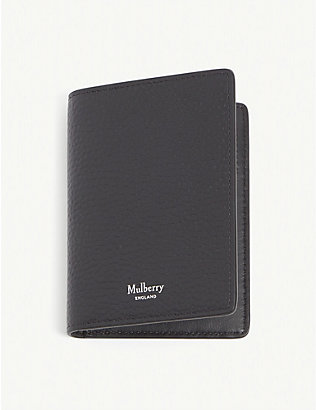 MULBERRY: Leather card holder