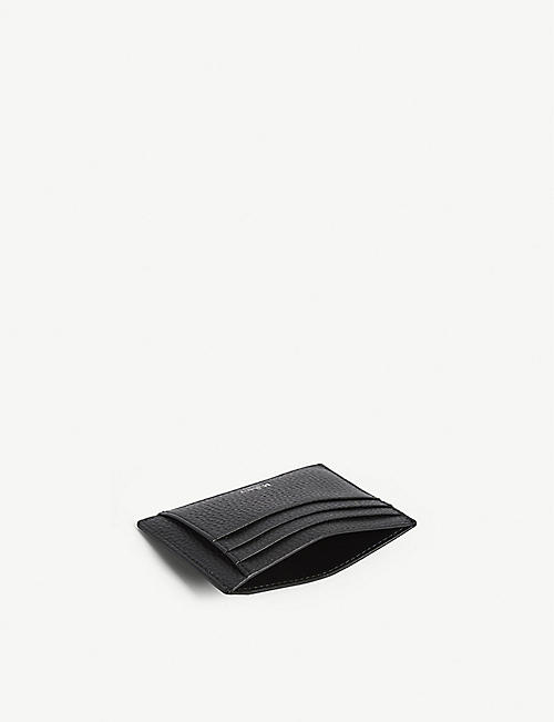 MULBERRY Grained veg tanned leather card holder