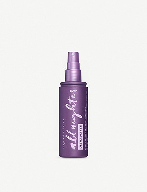 URBAN DECAY All Nighter Ultra Matte makeup setting spray 118ml