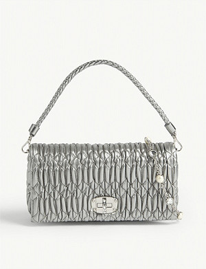 MIU MIU Matelasse leather cross-body bag