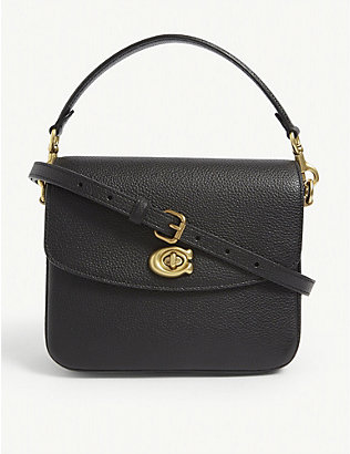 COACH: Cassie 19 leather cross-body bag