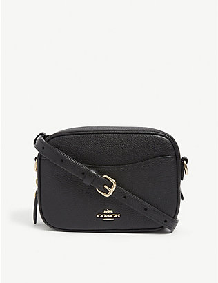 COACH: Leather camera bag