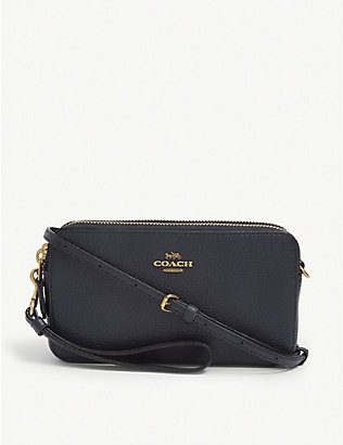 COACH: Kira grained leather cross-body bag