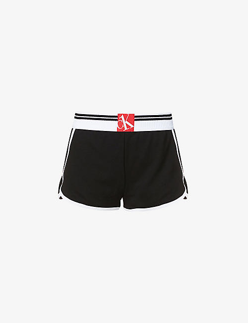 CALVIN KLEIN: CK One cotton-blend pyjama shorts