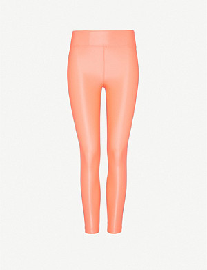 KORAL Lustrous high-rise stretch-jersey leggings