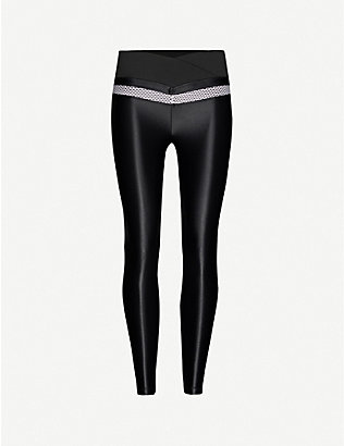 KORAL: Unity satin stretch leggings