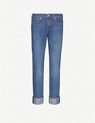 RAG & BONE: Dre boyfriend-fit low-rise jeans