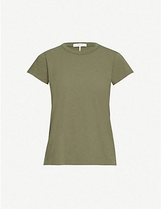 RAG & BONE: The Tee cotton-jersey T-shirt