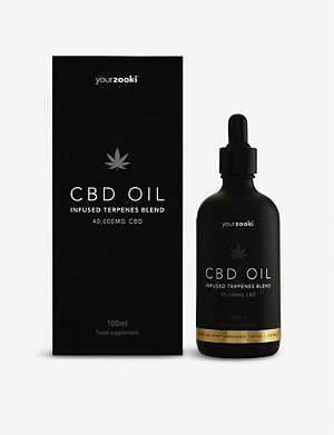 YOURZOOKI Black Edition 40,000mg 40% CBD oil 100ml