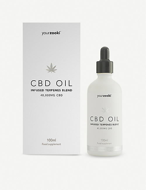 YOURZOOKI:Silver Edition 40,000mg 40% CBD 油 100ml