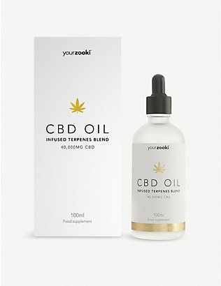 YOURZOOKI: Gold Edition 40,000mg 40% CBD oil 100ml