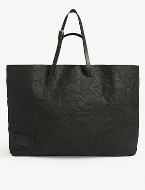 JW ANDERSON Crinkle leather tote