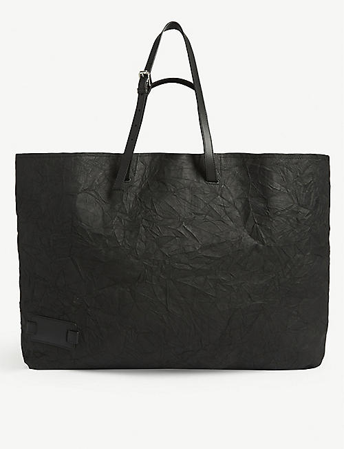 JW ANDERSON: Crinkle leather tote