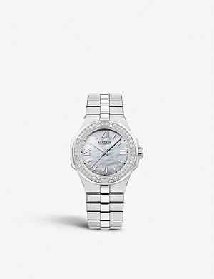 CHOPARD 298601-3002 Alpine Eagle automatic Lucent steel A223 and diamond watch