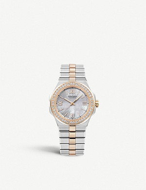 CHOPARD 298601-6002 Alpine Eagle automatic 18ct rose-gold, Lucent steel A223 and diamond watch