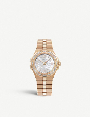 CHOPARD 295370-5002 Alpine Eagle automatic 18ct rose-gold and diamond watch