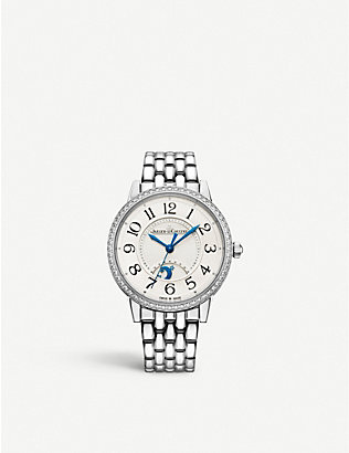 JAEGER-LECOULTRE: Q3448130 Rendez-Vous Night & Day stainless steel and diamond watch
