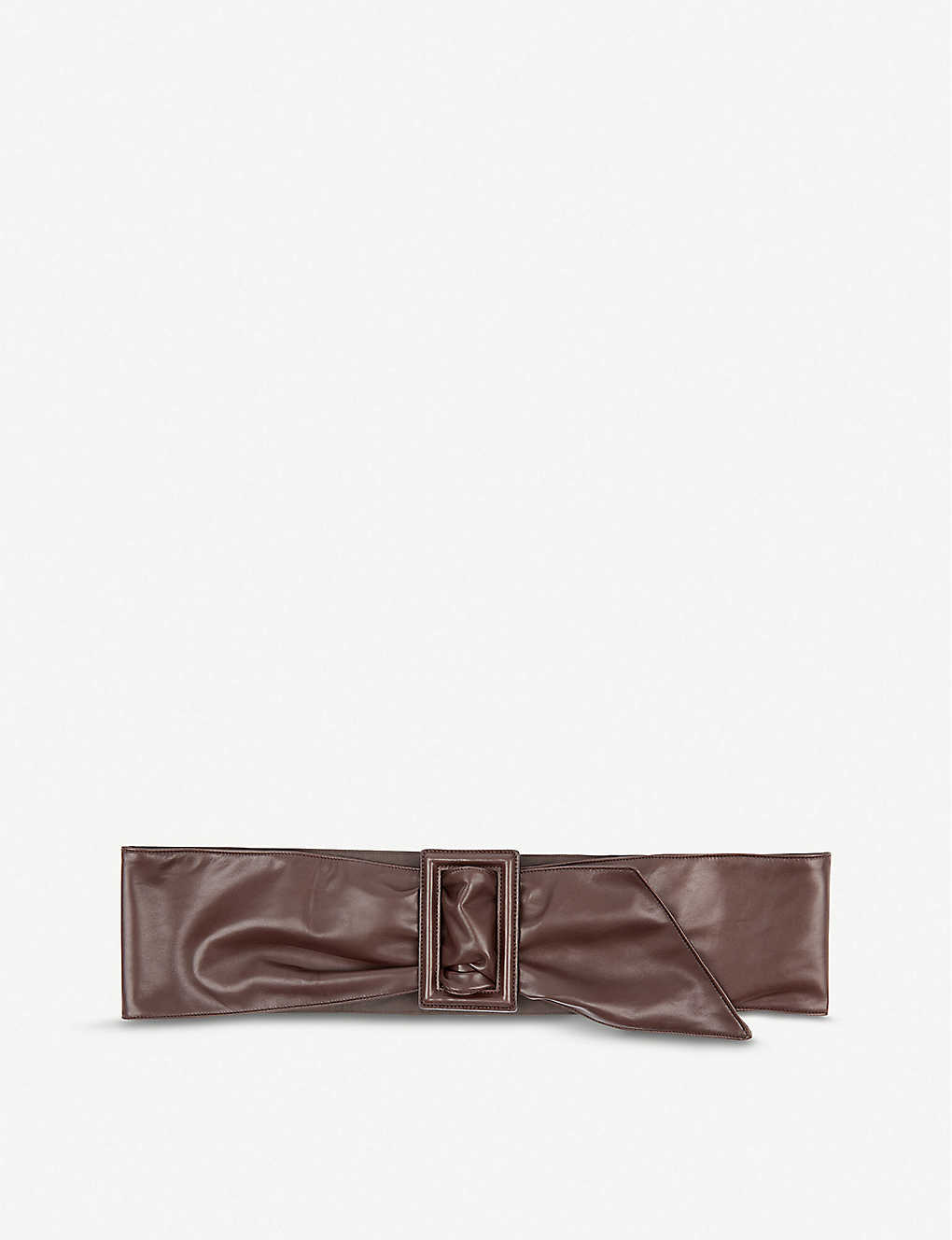 BRUNELLO CUCINELLI: Wide leather belt