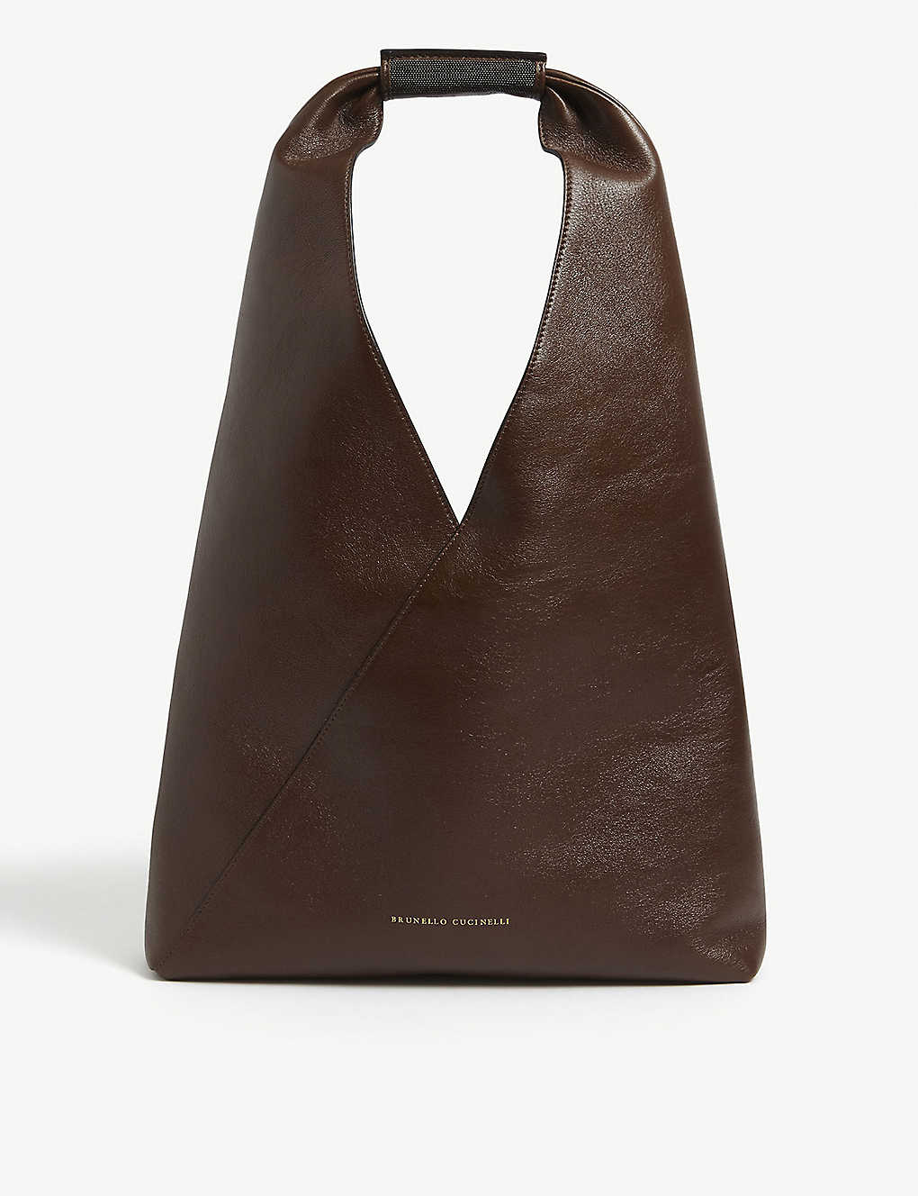 Brunello Cucinelli HOBO SLOUCHY LEATHER BAG