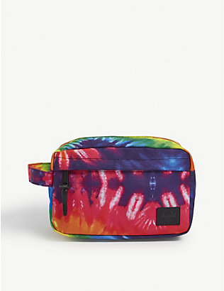 HERSCHEL SUPPLY CO: Chapter rainbow tie dye wash bag