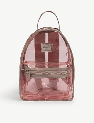 HERSCHEL SUPPLY CO Nova mini transparent backpack