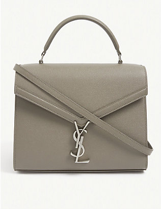 SAINT LAURENT: Cassandra grained leather tote