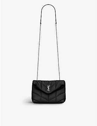 SAINT LAURENT: Loulou padded leather shoulder bag