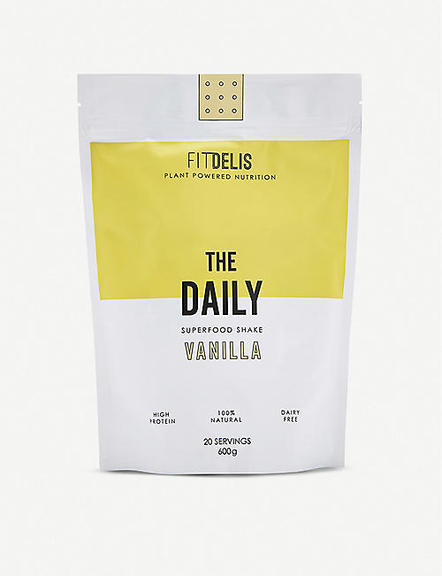 FITDELIS: The Daily multivitamin blend vanilla 600g