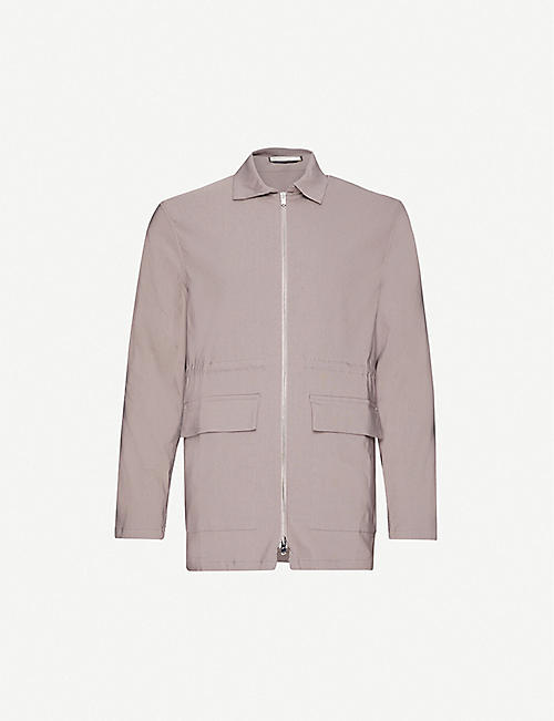 PREVU Signature relaxed-fit cotton-blend jacket