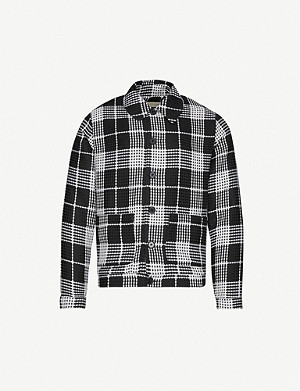 PREVU Vada checked woven jacket