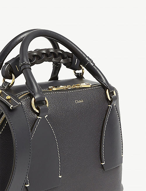CHLOE Daria medium leather tote bag