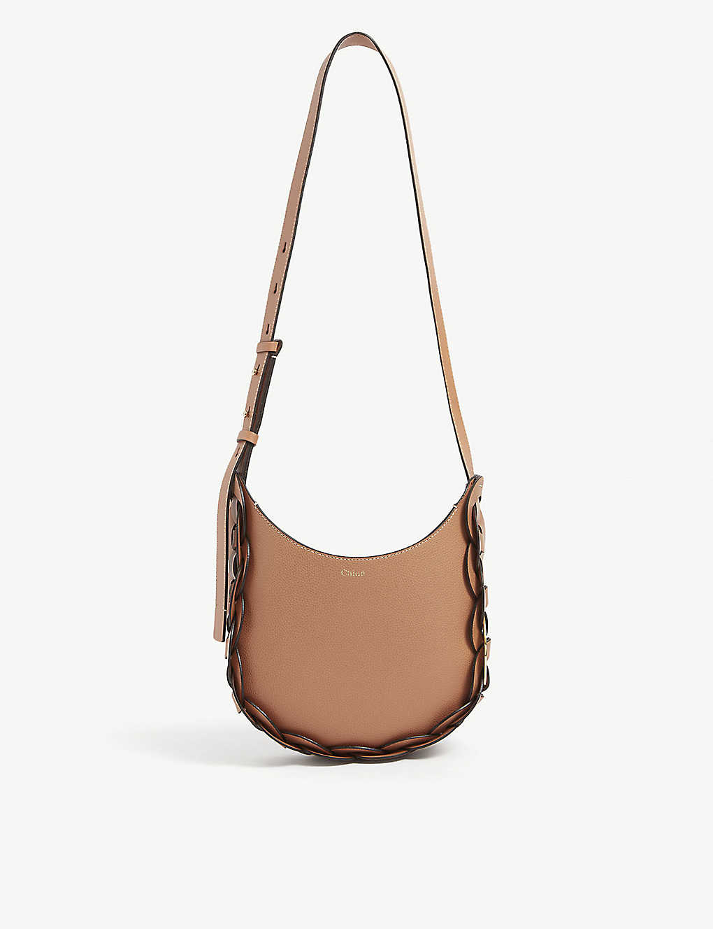 CHLOE: Darryl grained leather hobo bag