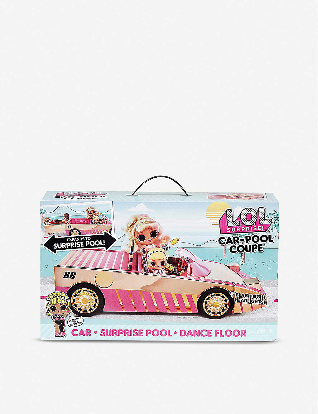 L.O.L. SURPRISE: Car-pool Coupe set