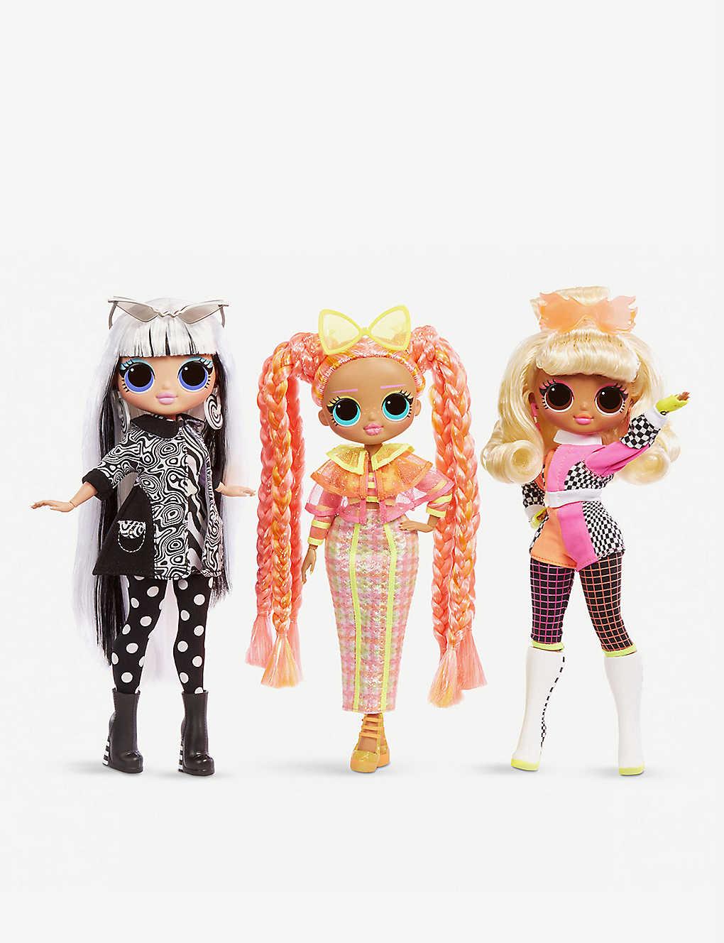 L O L Surprise O M G Lights Assorted Fashion Dolls Selfridges Com
