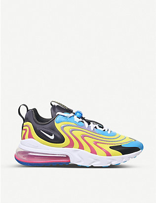 NIKE: Air Max 270 React woven trainers