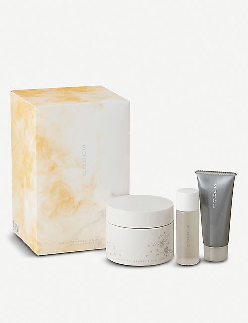 SUQQU: Musculate Massage and Mask Cream Mokuseikakou Kit