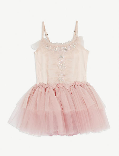 TUTU DU MONDE: Dream catcher cotton-blend tutu dress 6-24 months