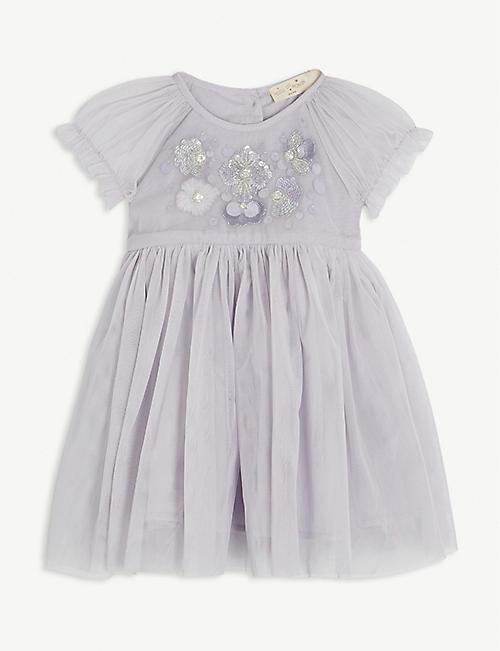 TUTU DU MONDE: Bloom tulle tutu dress 3-24 months