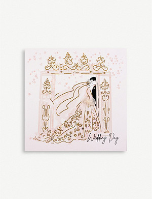 FIVE DOLLAR SHAKE Wedding Day greetings card 16.5cm x 16.5cm