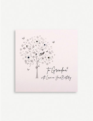 FIVE DOLLAR SHAKE: To Grandma with Love birthday greetings card