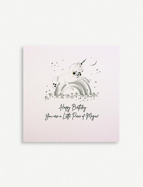 FIVE DOLLAR SHAKE Little Piece of Magic birthday greetings card