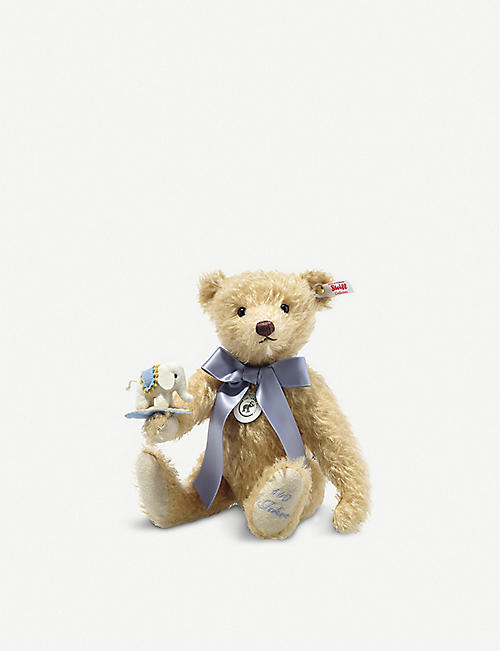 STEIFF: Limited-edition teddy bear with elephant soft toy 30cm