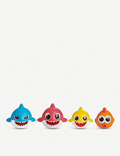 BABY SHARK: Baby Shark play set pack of four