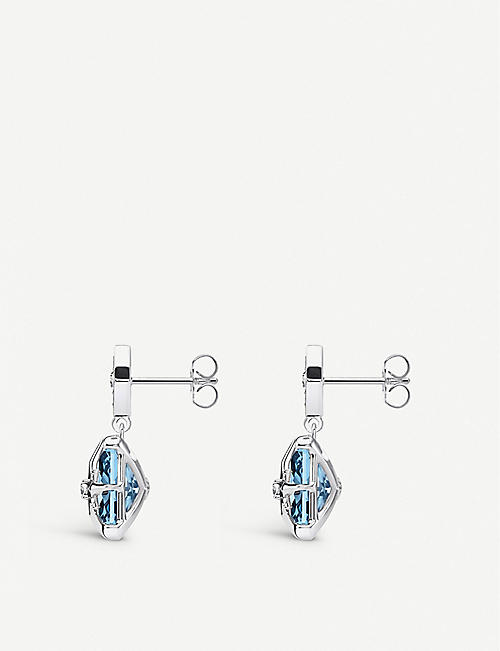 THOMAS SABO: Magic Stones Star sterling silver and spinel earrings