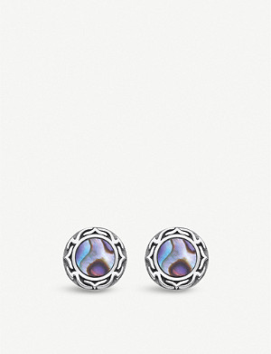 THOMAS SABO Magic Garden Abalone sterling silver ear studs