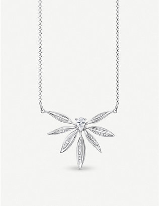 THOMAS SABO: Magic Garden sterling silver necklace