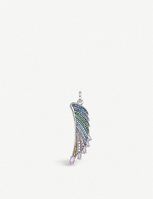 THOMAS SABO Magic Garden sterling silver wing pendant