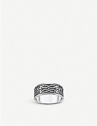 THOMAS SABO: Rebel at Heart Tiger sterling silver ring
